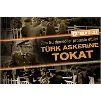 Film Festivalinde Türk Askerine Tokat Gerginliği