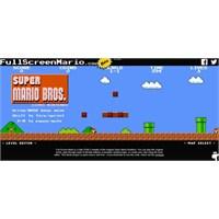 Super Mario Şimdi İnternet Tarayıcısında