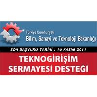 Teknogirişim Sermaye Başvurusu 16 Kasım'a Kadar
