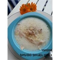 Tavuklu Çorba (Terbiyeli) Yapımı