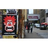 Londra'da 8 Bit Bir Sokak