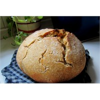 Ekşi Mayalı Ev Yapımı Ekmek