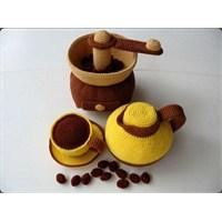Amigurumitr Oyuncak Ör Etkinliği *21* Kahve Seti