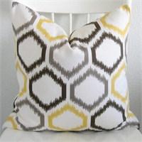 Sarı& Gri Dekoratif Yastıklar...