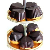 Çikolata Kaplı Hindistan Cevizli Kek..