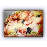 Pideden Pizza Yapımı