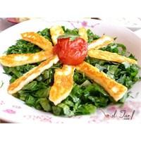 Diyet Salatası, Peynirli Yeşil Salata