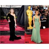 Oscar Kırmızı Halı 2011 Vs 2012