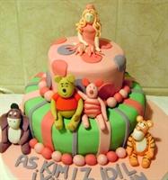 Prensesin Winnie The Pooh Pastası