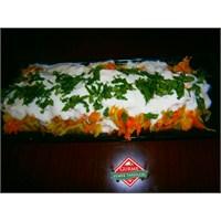 Yoğurtlu Sebze Salatası Tarif