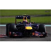 Abu Dhabi'de İlk Çizgide Red Bull, Pole Webber'in!
