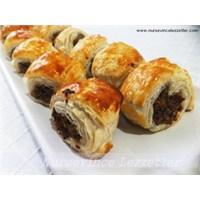 Köfteli Milföy Ruloları Tarifi