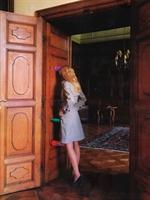 Claudia Schiffer Vogue Dergisi Çekim Görüntüleri