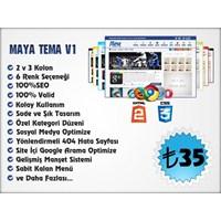 Maya V1 Wordpress Kişisel Blog Teması