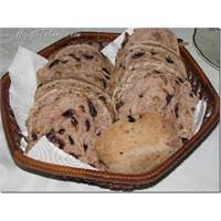 Zeytinli Ve Cevizli Ekmek - Fırında