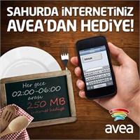 Avea'dan Sahurda Ücretsiz İnternet Kampanyası