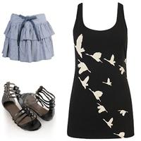 Kuş Figürlü Bahar Giyim Tüyoları