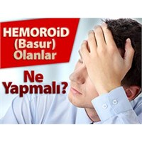Hemoroid (Basur) İçin Doğal Çözüm