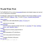İlk Web Sitesinin Adresini Biliyor Musunuz?