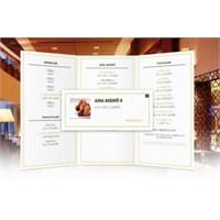 3 Boyutlu Restaurant Menü Örneği