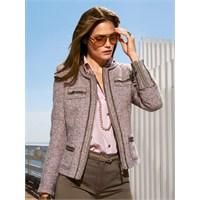 Sonbahar Modası Tüvit Ceketler
