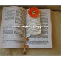 Çiçekli Kitap Ayraçları