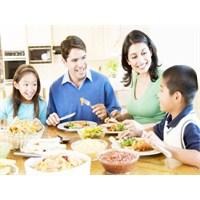 Birlikte Yenilen Aile Yemeklerinin Faydaları