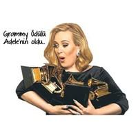 """""""Adele"""" Grammy Ödüllerini Sildi Süpürdü!"""
