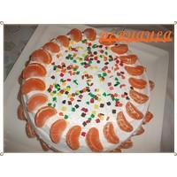 Enfes Mandalinalı Pasta