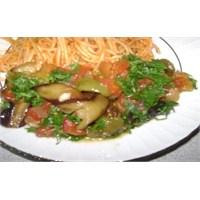 Zeytinyalı Patlıcan Çığırtma Tarifi