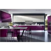 İki Renkli Mutfak Dolapları İle Şıklık Geliyor