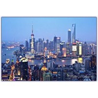 Çin'de Bir Liman Kenti (Şanghay)