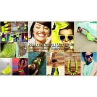 2013 Yaz Rengi: Neon Sarı