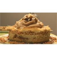 Tel Kadayıflı Kestaneli Tatlı Pasta Tarifi