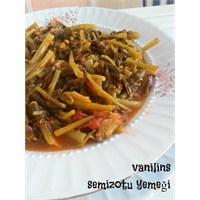 Vanilinsten Semizotu Yemeği