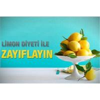 Limon Diyetiyle Zayıflayın