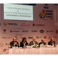 16. Avrasya Ekonomi Zirvesi İstanbul'da Başladı