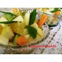 Sağlikli Meyve Salatasi