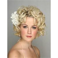 Gelin Başı İçin Gelin Saçı Modelleri
