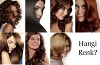 Yakışan Saç Rengini Bulma Yolları