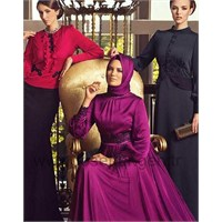 2014 Tesettürlü Elbise Modelleri