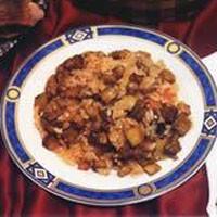 Zeytinyağlı Patlıcanlı Pilav...