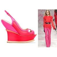 Trend : Kırmızı&pembe Kombini
