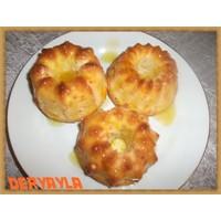 Portakal Soslu Labneli Muffin