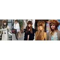 Kürk Şapka Kombinleri Ve Modelleri