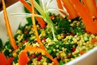 Kırmızı Biberli Kuskus Salatası