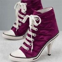 Yeni Trend Converse Topuklu Ayakkabı