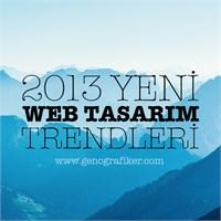 2013 Yeni Web Tasarım Trendleri