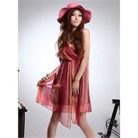 2013 Şifon Elbise Modelleri