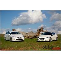 Hibrid Sistem Karşılaştırması: Prius - Cr-z